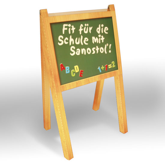 Schultafel dekoration display druck for Dekoration und display