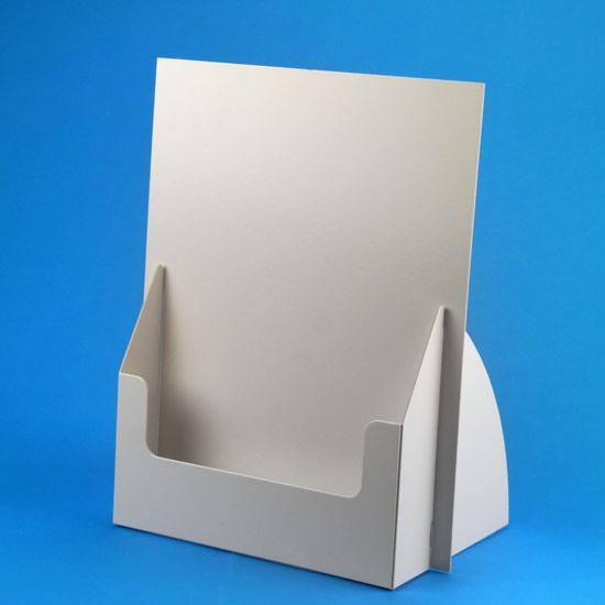 prospekthalter f r a4 unbedruckt 0007 8 display druck. Black Bedroom Furniture Sets. Home Design Ideas