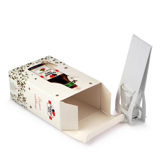 faltschachtel als onpack verpackung mit shot glas display druck. Black Bedroom Furniture Sets. Home Design Ideas