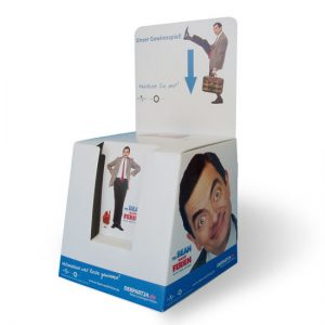 Trapezförmige Einwurfbox