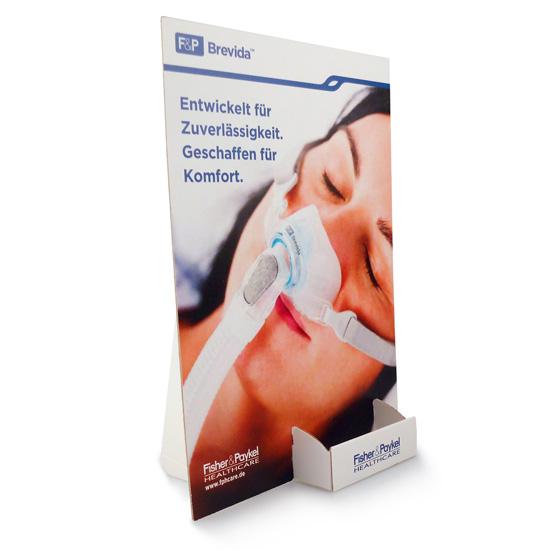 Visitenkartenhalter Mit Werbeschild Display Druck