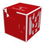 Einwurfbox als 3D PDF